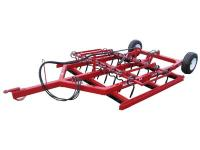 REDBACK Heavy Duty Trailing Land Leveller - 3.0m (10ft) 3 bar model