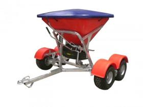 Walco Allspread 3.50 Tandem Fertiliser Spreader (shown with optional hard lid and mudgards)