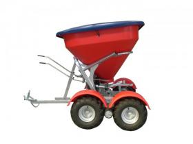Walco Allspread 6.75 Tandem Spreader (shown with optional hard lid and mudgards)