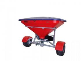 Walco Allspread 500 Simple Drive Fertiliser Spreader (shown with optional hard lid)