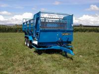 McIntosh Multicrop Silage Feedout Forage Wagon
