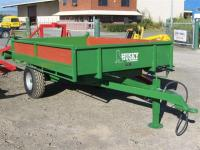 Husky 2.5 Tonne Tipping Farm Trailer