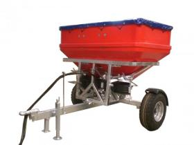 Walco Allspread TT2600 Twin Spinner Trailed Spreader