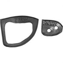 Door handle pad set Ford 57-58  B7A-7222...