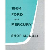 Shop Manual 64 Galaxie  BK1SM64