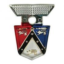 Hood emblem 55-56 Ford  B5A-16637-B