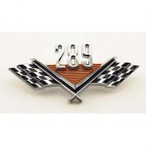 Fender Nameplate - 289 - Crossed Flags T...