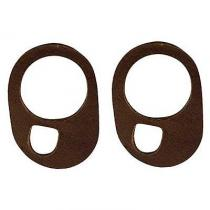 Windshield Wiper Pivot Pads - Leather - ...
