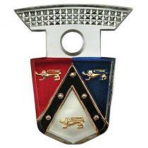 Emblem Insert - Plastic - Ford 54-59  BM...