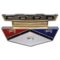 Hood Emblem Insert - Plastic - 59 Ford  ...