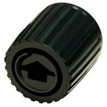 Radio Knob - Black -Fairlane 62  COAZ-18...