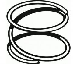 Horn ring spring 52-59  B4AZ-13A807-A