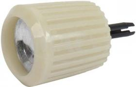 Radio Knob White Fairlane 62-63  CODB-18...