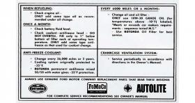 Service Specs 65-66 DF20