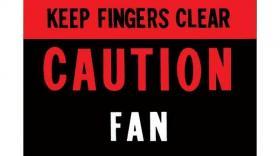 Fan Caution 64 DF741