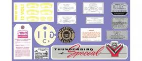 Decal Kit 57 Ford  DK17