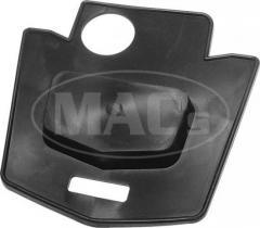 Trunk lid emblem mounting pad  B7A-70435...