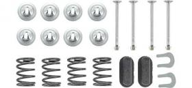 Brake shoe hold down kit 55-56  B2A-2068...