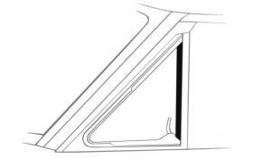 Vent Window Seals 60-65 Falcon ---------...