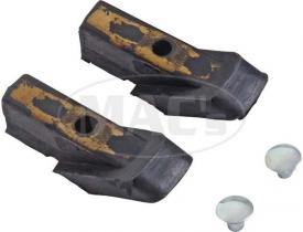 Upper vent bar channel seals 64-66 -----...