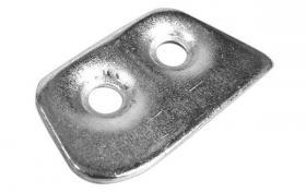 Door striker plate 60-62  C3SZ-6322014-A
