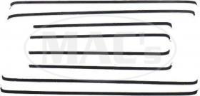 Belt side glass 57-58 4D  49-68283-1