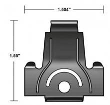 Windshield moulding clip 63-4 C4AZ-63031...