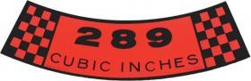 Air Cleaner 289 65-70