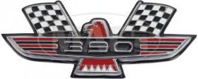 Emblem front fender 60  64-79809