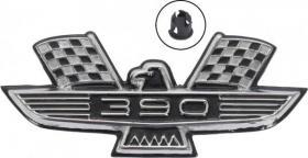 Emblem front fender 60-64 64-94108