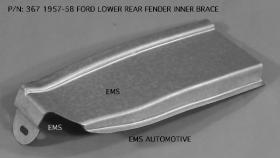 Lower front fender repair 57-58 P/N 367