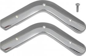 Seat hinge covers 63-65  C3DZ-61694 CH