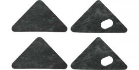 Hood pad set 62-65  C3OZ-16738-ST