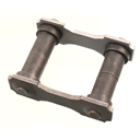 Rear shackle assy 66-71