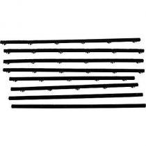 Belt side glass 63-65 2D