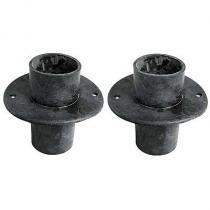 Cowl drain tubes 57-58