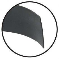 Stone deflector rear 55-56