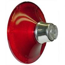 Tail light lens w/backup 61 Galaxie