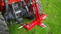 Redback Three Point Linkage Tow Hitch Drawbar