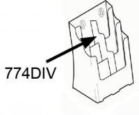 Divider Inserts 6 pocket DLE